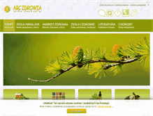 Tablet Preview of abczdrowia.com.pl